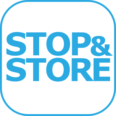 stop and store, logo