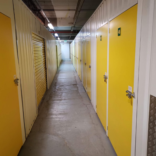 Storage Doors in Fareham Facility