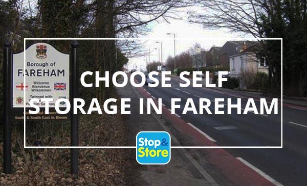 choose self storage in fareham