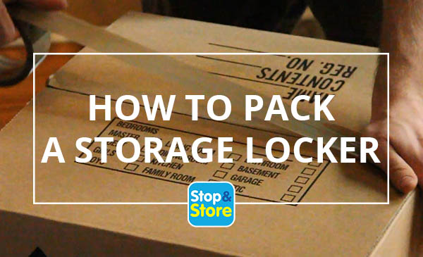 how to pack a storage locker