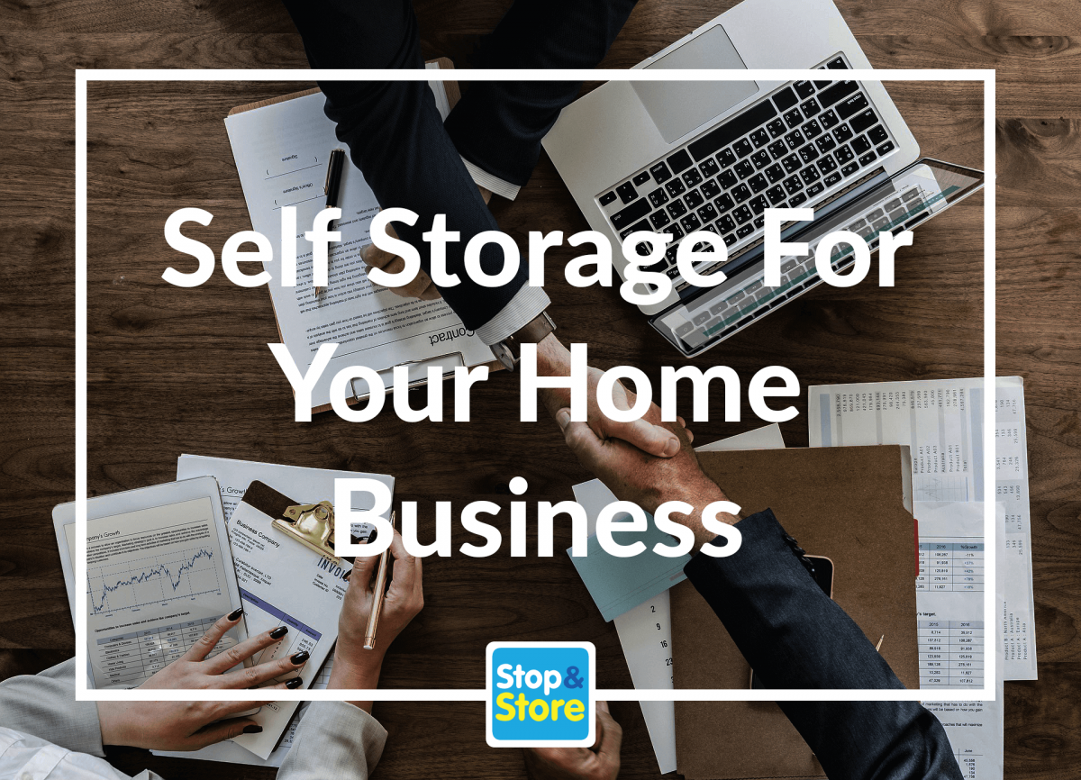 self storage for your home business