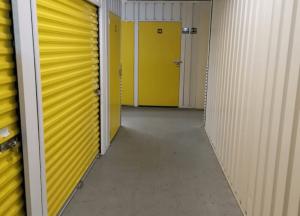 indoor yellow Storage Units