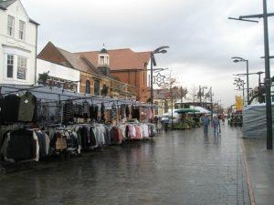 Fareham street market