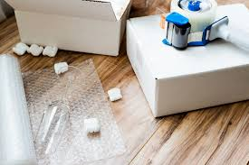 bubble wrap and moving supplies