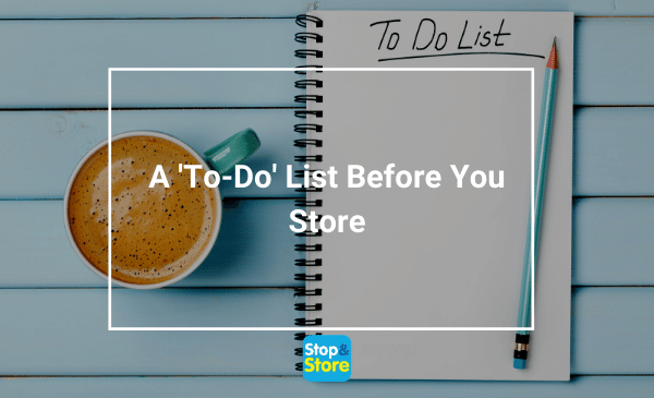 To Do List and cup of coffee