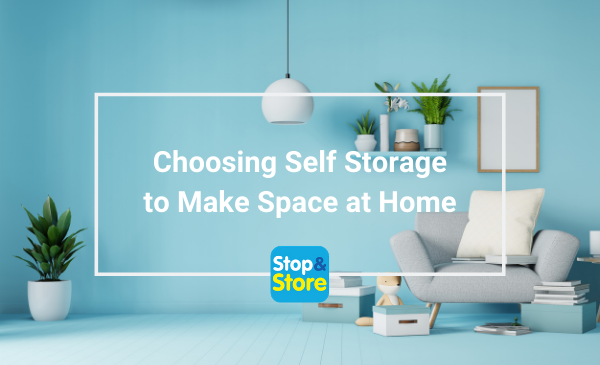 Runcorn Choosing Self Storage to Make Space at Home