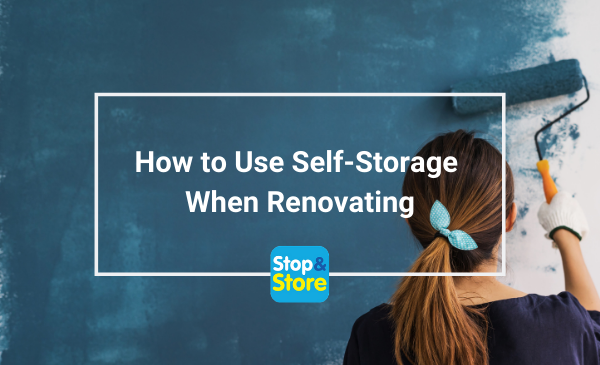 Storage Clacton How to Use Self-Storage when Renovating