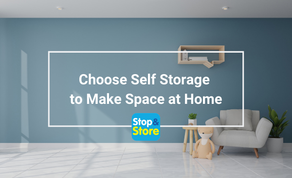 Great Yarmouth Self Storage Make Space at Home.