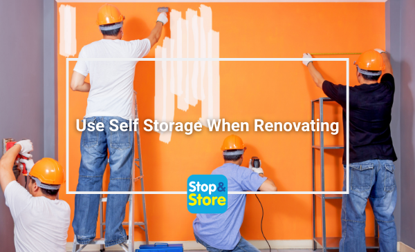 Self Storage Great Yarmouth while Renovating