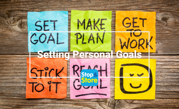 Setting Personal Goals - Self Storage Clacton