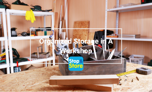 Sutton in Ashfield Organized Storage in A Workshop