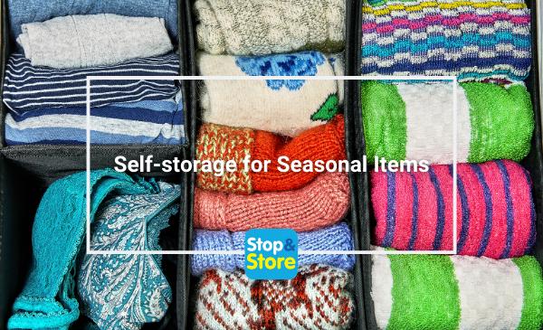 Clacton Self-storage for Seasonal Items
