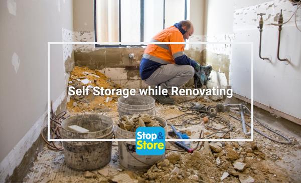 Self Storage while Renovating Grimsby Storage Units plumbing