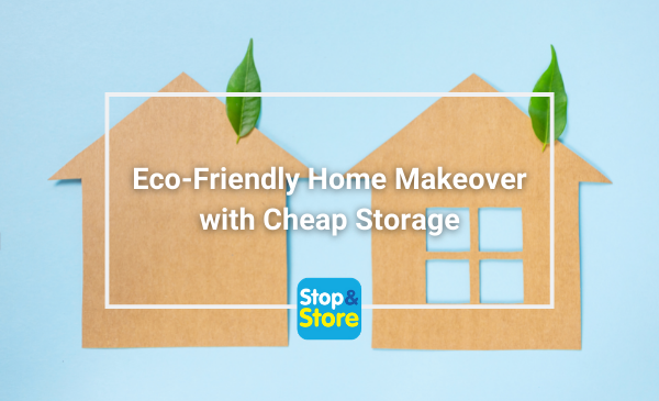 Home Eco Friendly Make Over with Cheap Storage
