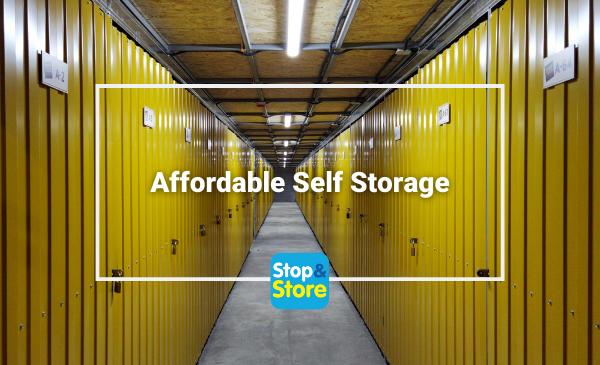 Affordable Self Storage Fareham Budget Storage