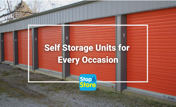 Self Storage Units for Every Occasion