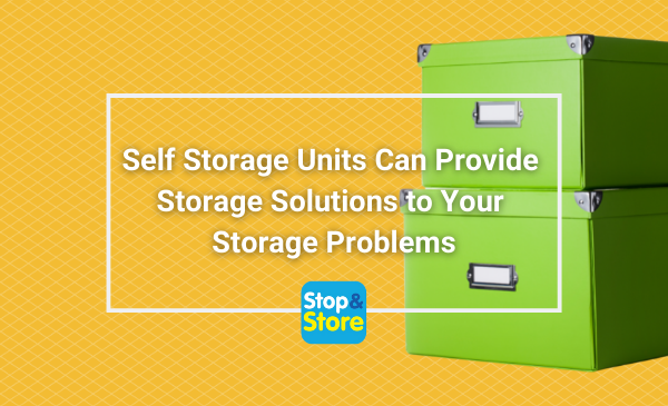 Using Self Storage Units Can Provide Storage Solutions to Your Storage Problems Fareham