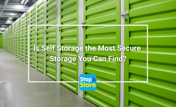 Is Self Storage the Most Secure Storage Penrith You Can Find