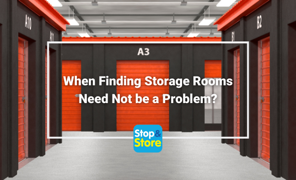 When Finding Storage Rooms Need Not be a Problem - Penrith